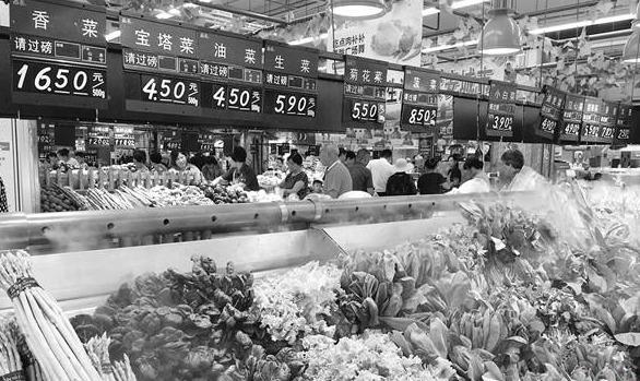 台风远去季节更替 菜价小幅回落仍居高位 香菜比肉贵