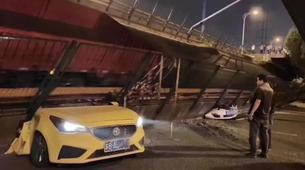 江苏无锡高架桥侧翻事故致3死2伤
